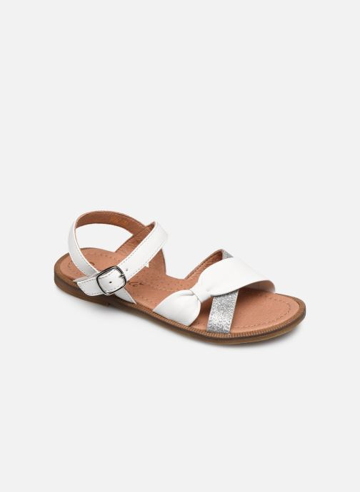 Sandals Romagnoli Sandales 5767 White detailed view/ Pair view