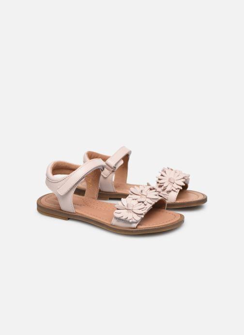 Sandales et nu-pieds Romagnoli Sandales 5796 Rose vue 3/4