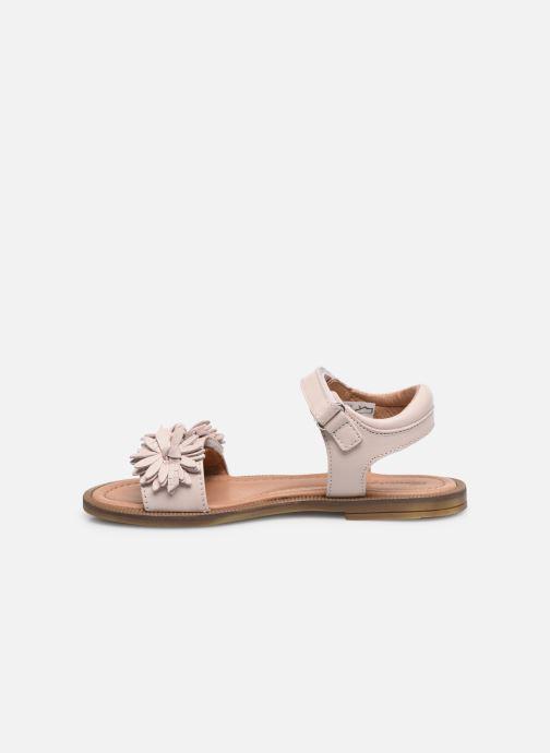Sandales et nu-pieds Romagnoli Sandales 5796 Rose vue face