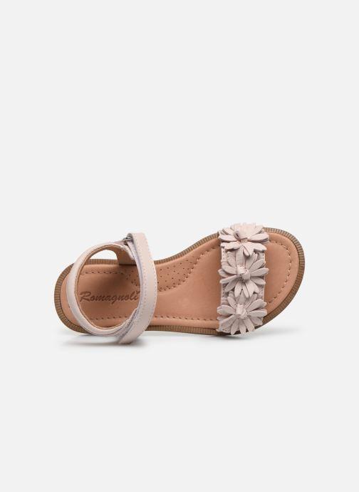 Sandales et nu-pieds Romagnoli Sandales 5796 Rose vue gauche