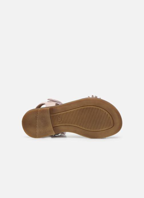 Sandales et nu-pieds Romagnoli Sandales 5796 Rose vue haut