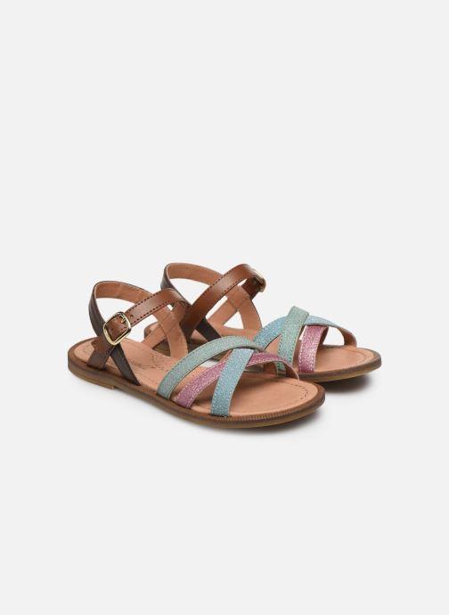 Sandali e scarpe aperte Romagnoli Sandales 5758 Multicolore immagine 3/4
