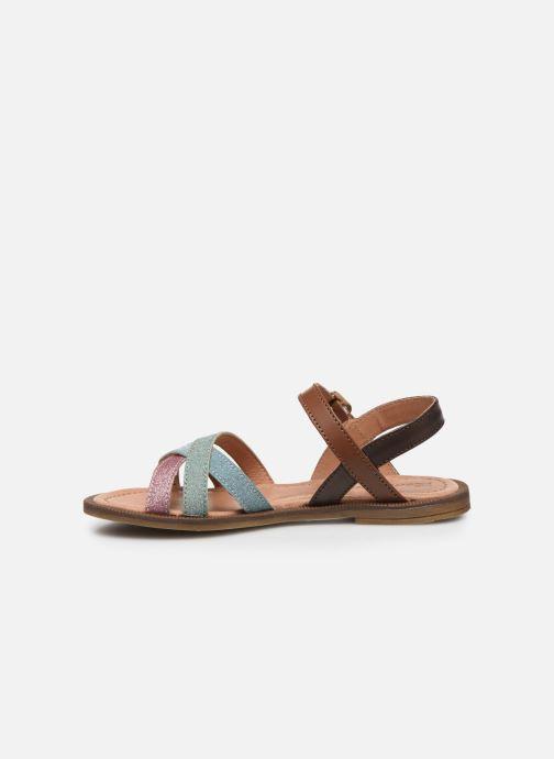 Sandali e scarpe aperte Romagnoli Sandales 5758 Multicolore immagine frontale