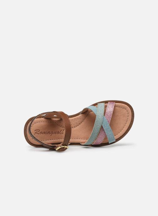 Sandali e scarpe aperte Romagnoli Sandales 5758 Multicolore immagine sinistra