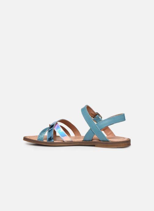 Sandales et nu-pieds Romagnoli Sandales 5758 Bleu vue face