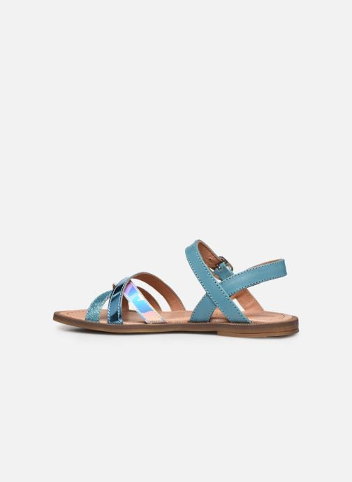 Sandalias Romagnoli Sandales 5758 Azul vista de frente