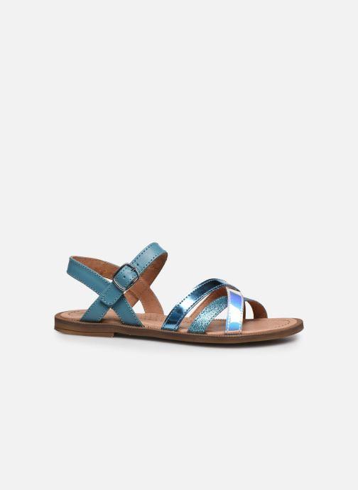 Sandales et nu-pieds Romagnoli Sandales 5758 Bleu vue derrière