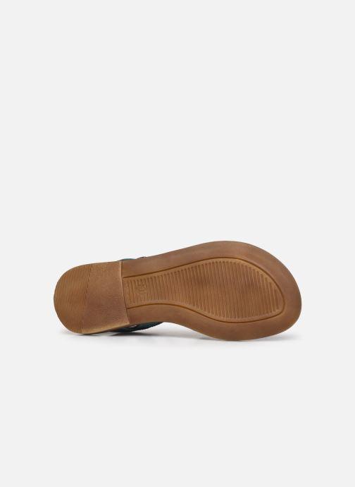 Sandales et nu-pieds Romagnoli Sandales 5758 Bleu vue haut