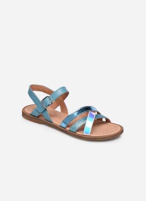 Sandales et nu-pieds Romagnoli Sandales 5758 Bleu vue détail/paire