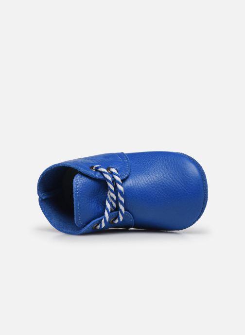 Pantofole Poco Nido Blue Midi Boot Azzurro immagine sinistra
