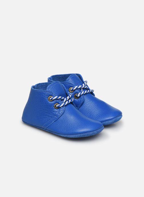 Hausschuhe Poco Nido Blue Midi Boot blau detaillierte ansicht/modell