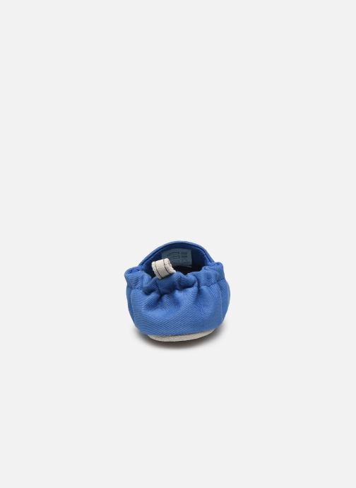 Chaussons Poco Nido Plain Delft Blue Mini Shoe Bleu vue droite