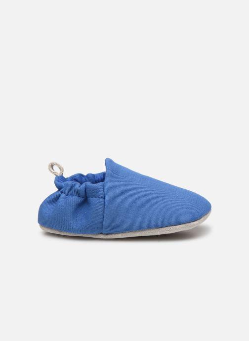 Pantuflas Poco Nido Plain Delft Blue Mini Shoe Azul vistra trasera