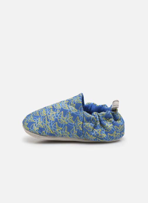Chaussons Poco Nido Origami Boats Mini Shoe Bleu vue face