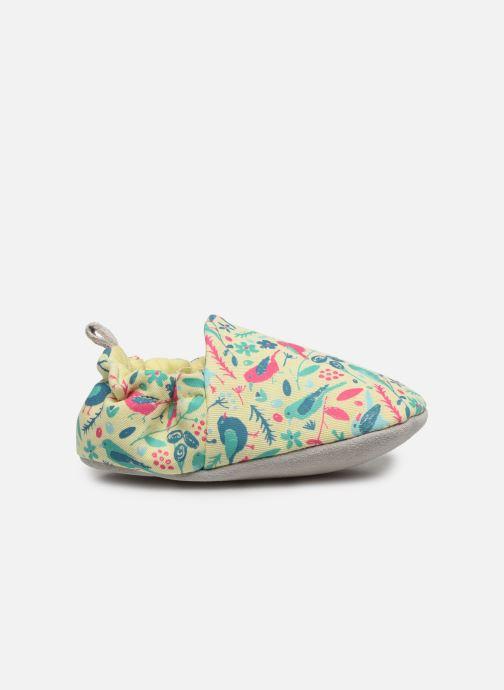 Chaussons Poco Nido Chalk Birds Yellow Mini Shoe Jaune vue derrière