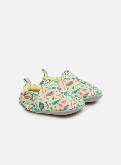Chalk Birds Yellow Mini Shoe