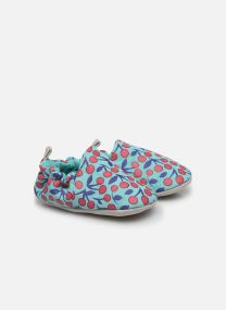 Cherries Turquoise Mini Shoe