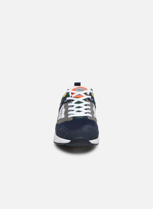 Baskets Pepe jeans Orbital Suede Junior Multicolore vue portées chaussures