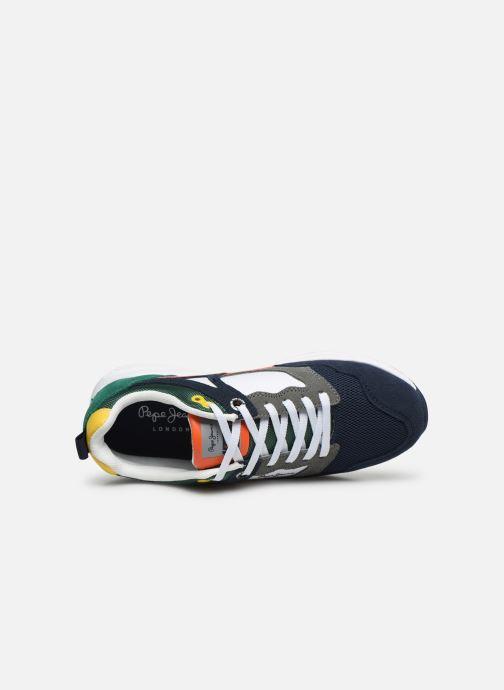 Baskets Pepe jeans Orbital Suede Junior Multicolore vue gauche