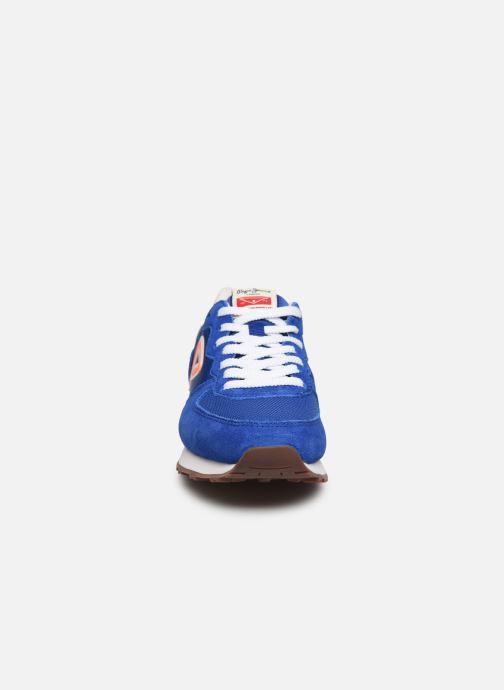 Baskets Pepe jeans Klein Junior Bleu vue portées chaussures
