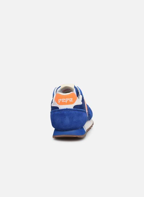 Baskets Pepe jeans Klein Junior Bleu vue droite