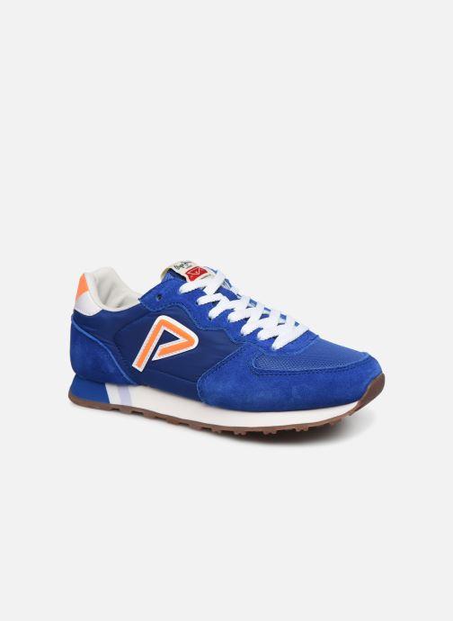 Baskets Pepe jeans Klein Junior Bleu vue détail/paire