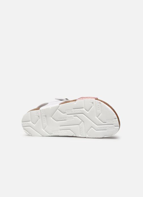 Sandales et nu-pieds Pepe jeans Bio Buckle Blanc vue haut