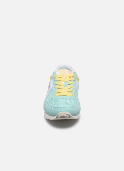 Baskets Pepe jeans Sydney Pastel Girl Multicolore vue portées chaussures
