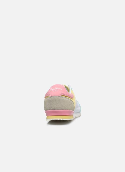 Baskets Pepe jeans Sydney Pastel Girl Multicolore vue droite