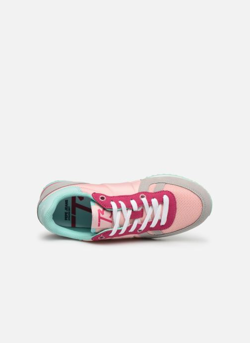 Baskets Pepe jeans Sydney Basic Girl Multicolore vue gauche