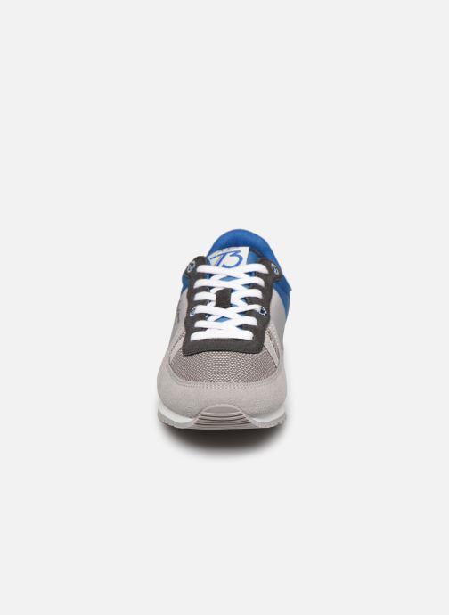 Baskets Pepe jeans Sydney Basic Boy Gris vue portées chaussures