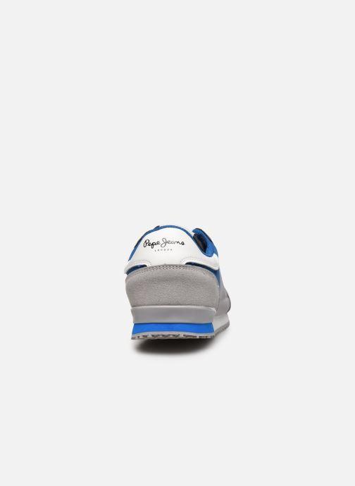 Deportivas Pepe jeans Sydney Basic Boy Gris vista lateral derecha