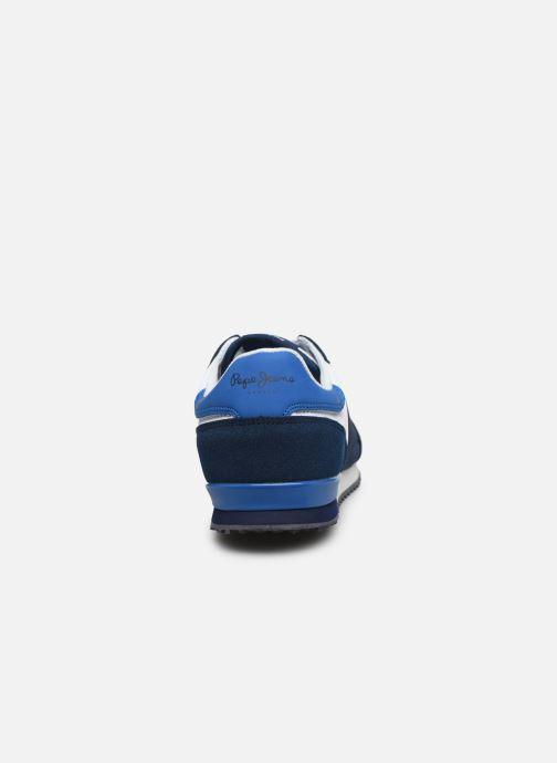 Baskets Pepe jeans Sydney Basic Boy Bleu vue droite