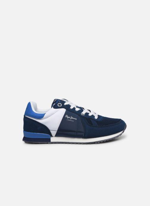 Baskets Pepe jeans Sydney Basic Boy Bleu vue derrière