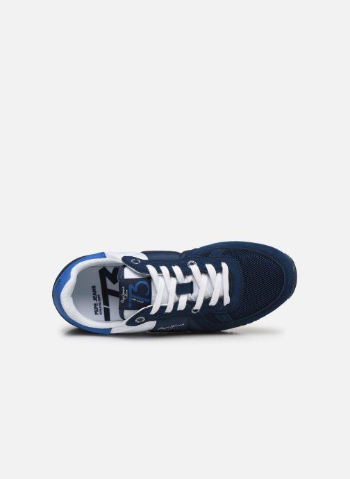 Baskets Pepe jeans Sydney Basic Boy Bleu vue gauche