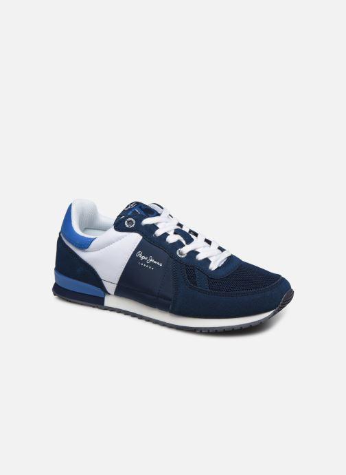 Baskets Pepe jeans Sydney Basic Boy Bleu vue détail/paire