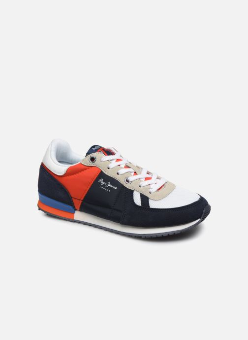 Sneakers Pepe jeans Sydney Basic Boy Azzurro vedi dettaglio/paio