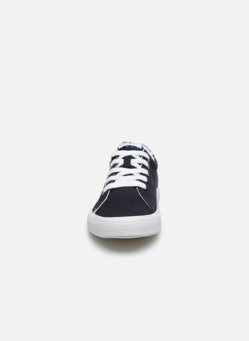 Baskets Pepe jeans Kenton Basic Boy Bleu vue portées chaussures