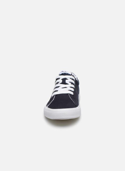Sneakers Pepe jeans Kenton Basic Boy Azzurro modello indossato