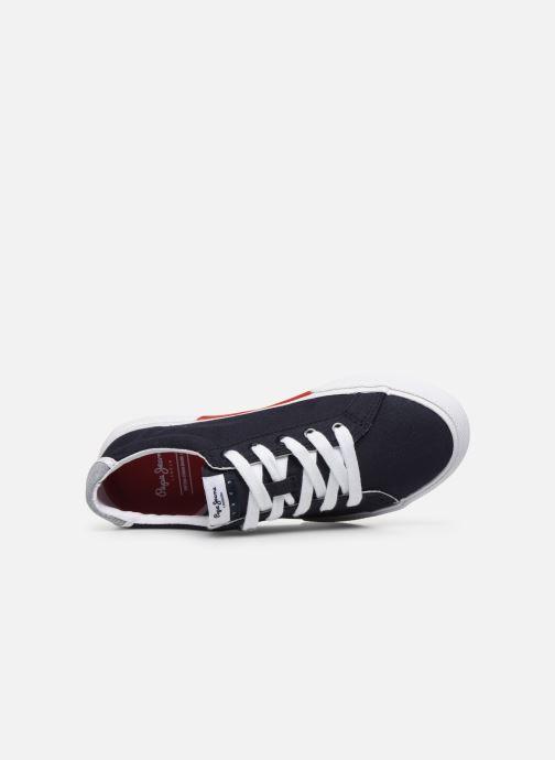 Sneakers Pepe jeans Kenton Basic Boy Azzurro immagine sinistra