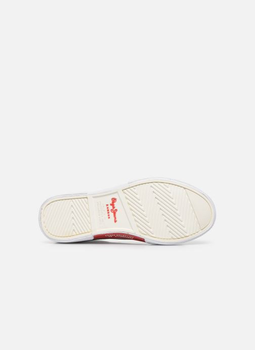 Baskets Pepe jeans Kenton Basic Boy Bleu vue haut