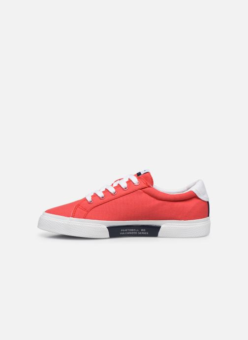 Sneakers Pepe jeans Kenton Basic Boy Rosso immagine frontale