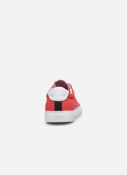 Baskets Pepe jeans Kenton Basic Boy Rouge vue droite