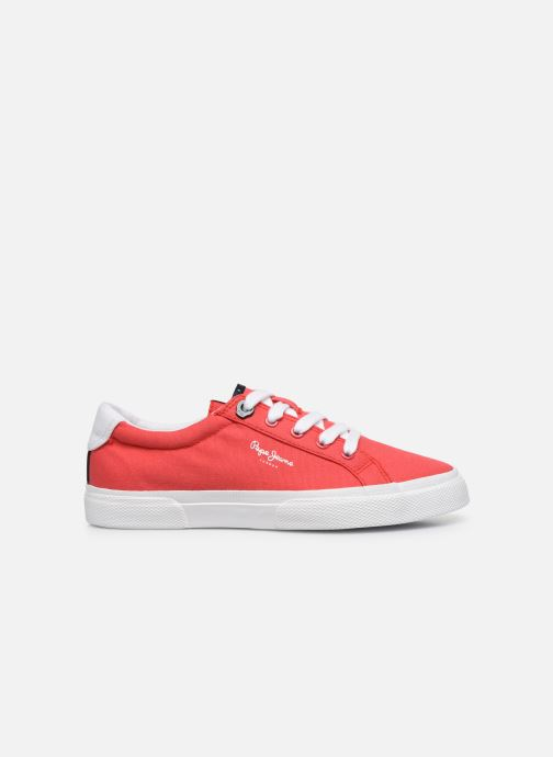 Sneakers Pepe jeans Kenton Basic Boy Rosso immagine posteriore