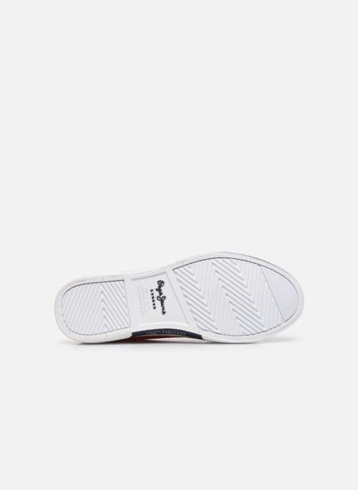 Baskets Pepe jeans Kenton Basic Boy Rouge vue haut