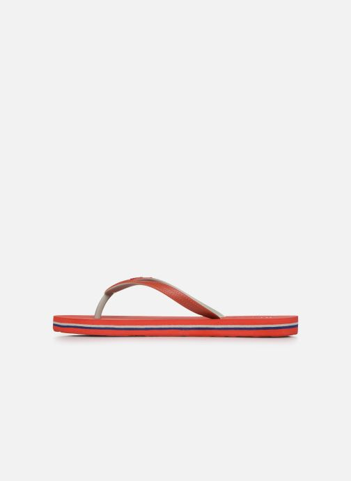 Infradito Pepe jeans Beach Basic Boy Rosso immagine frontale