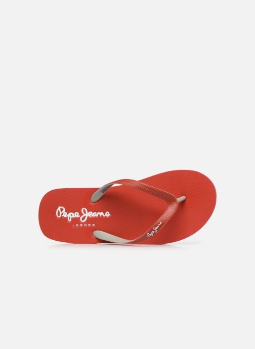 Infradito Pepe jeans Beach Basic Boy Rosso immagine sinistra