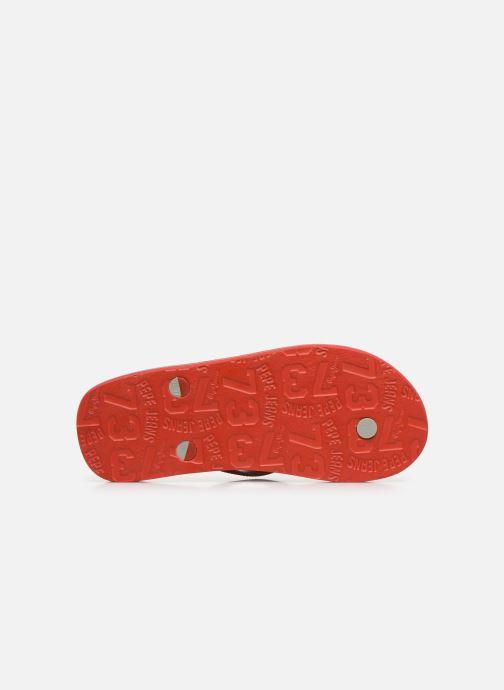 Infradito Pepe jeans Beach Basic Boy Rosso immagine dall'alto