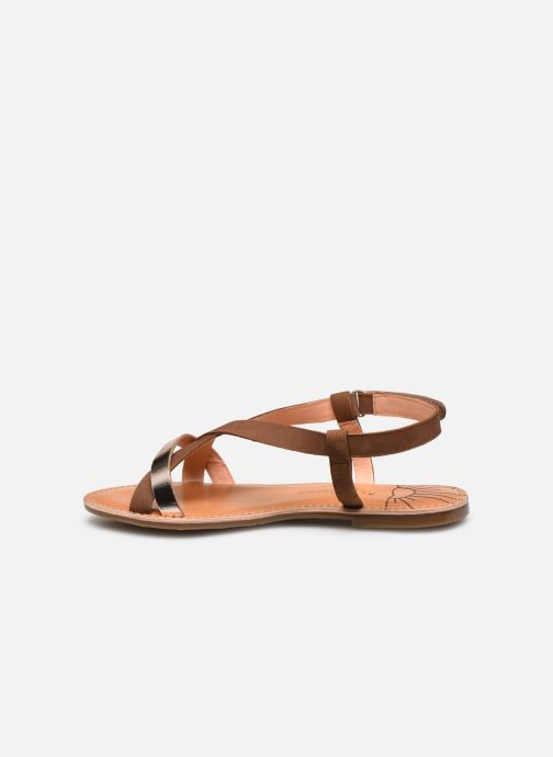 Sandalias Pepe jeans Mandy Basic Marrón vista de frente
