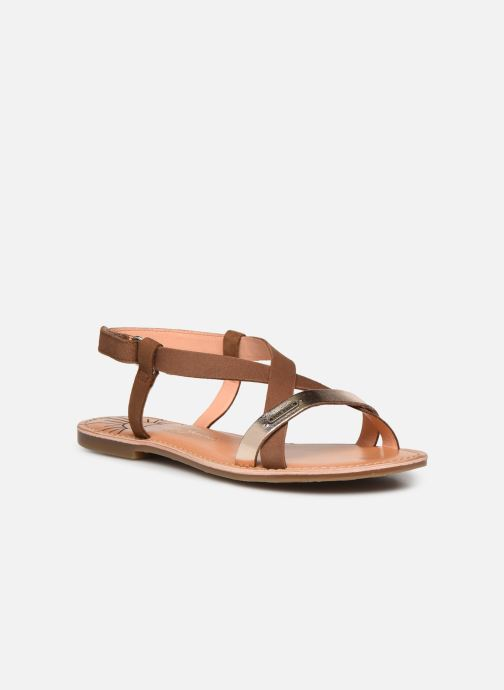 Sandales et nu-pieds Pepe jeans Mandy Basic Marron vue détail/paire